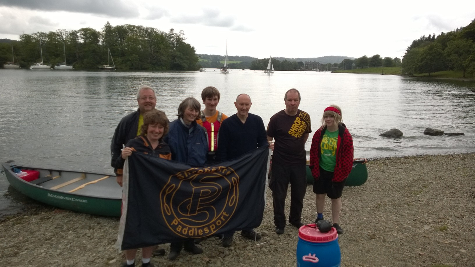 Flying the flag Windermere