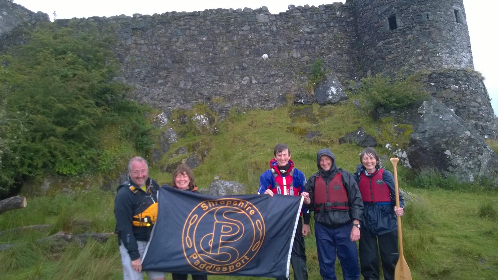 Flying the flag – Loch Awe