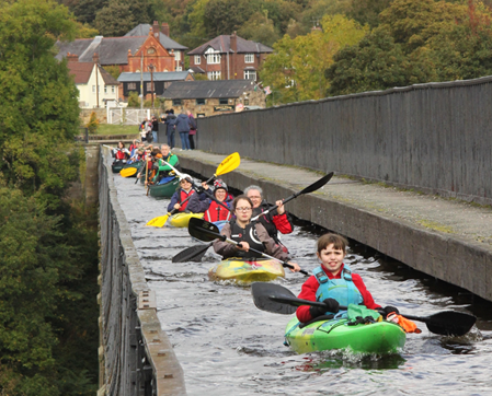 Llangollen to Chirk Bank Paddle